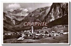 Old Postcard Cortina Ed Miramonti da Fotografia A Zardini Cortina d Ampezzo R...