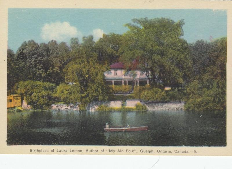 GUELPH , Ontario, 1930s ; Birthplace of Laura Lemon, Author of My Ain Folk