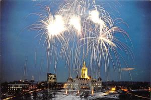 Fireworks, State Capitol - Connecticut