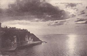France Granville Coucher de Soleil 1930