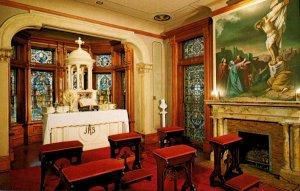 Texas Galveston Bishop's Palace The Chapel