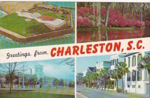 Greetings From Charleston South Carolina Multi View