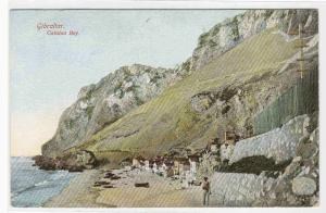 Catalan Bay Gibraltar UK 1910c postcard