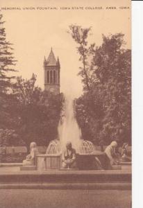 Memorial Union Fountain, Iowa State College, Ames, Iowa 1948