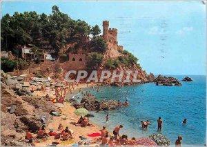 Postcard Modern Loret de Mar Costa Brava Caleta