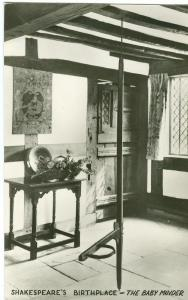 UK, Shakespeare's Birthplace, The Baby Minder, early 1900s