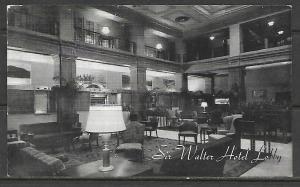 North Carolina - Raleigh - Sir Walter Hotel Lobby - [NC-017]