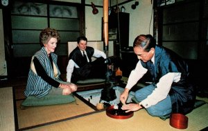 President Ronald Reagan and Nancy Visit to Japn