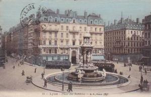 France Lyon Place des Jacobins 1910