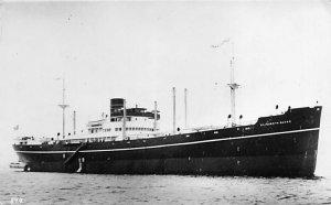 Elizabeth Bakke MV Ship Writing on back