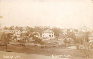 E86/ Bethesda Ohio RPPC Postcard Belmont County 1910 Birdseye Homes