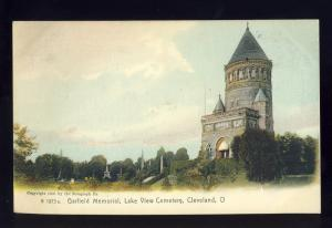 Cleveland, Ohio/OH Postcard, Garfield Monument, Lake View Cemetery
