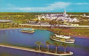 The Magic Kingdom Arrive By Old Fashioned Steamboats And Sleek Monorail Train...