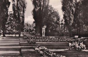 Rheinberg Stadtpark Gardens Stunning Vintage German Real Photo Postcard
