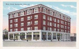 BARTLESVILLE, Oklahoma, 1900-10s; Maire Hotel