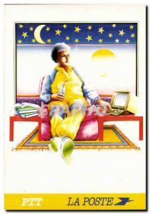 Post Modern Postcard THE Videposte Telematez your accounts (Patrick Martin Gr...