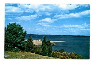 RI - Prudence Island. Sand Point