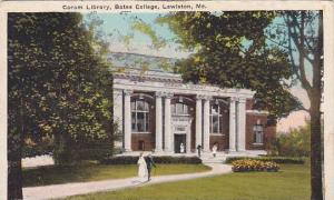 Maine Lewiston Coram Library Bate College 1926