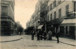CPA CHARENTON Rue de l'Embarcadere. (509347)