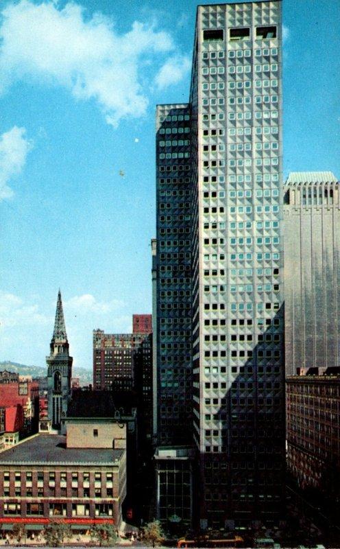 Pennsylvania Pittsburgh Alcoa Building Facing Mellon Square