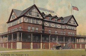 HOOKSETT, New Hampshire, 1900-1910's; Riverside Inn