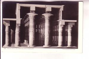 Real Photo, Model of Hypostyle Hall, Temple of Karnak, Egypt, AZO