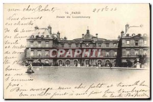 Postcard Old Paris Luxembourg Palace