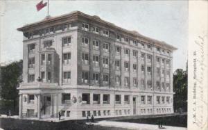 Illinois Springfield Y M C A Building 1908