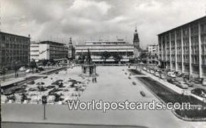 Mannheim Germany, Deutschland Postcard Paradeplatz Mannheim Paradeplatz