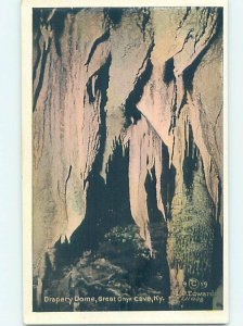 Linen GREAT ONYX CAVE Mammoth Cave National Park - Cave City Kentucky KY AD4487