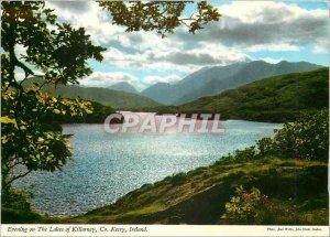 Modern Postcard Evening on the Lakes of Killarney Co Kerry Ireland
