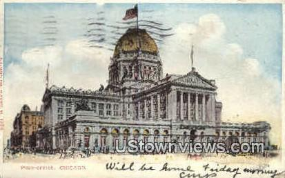 Post Office Chicago IL 1906
