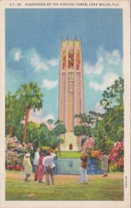 Florida Lake Wales Sightseeing At The Singing Tower 1937 Curteich
