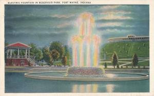 Electric Fountain in Reservoir Park - Fort Wayne IN, Indiana - WB