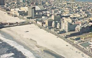 Aerial View, Malborough-Blenheim, Beach, ATLANTIC CITY, New Jersey, 40-60´s