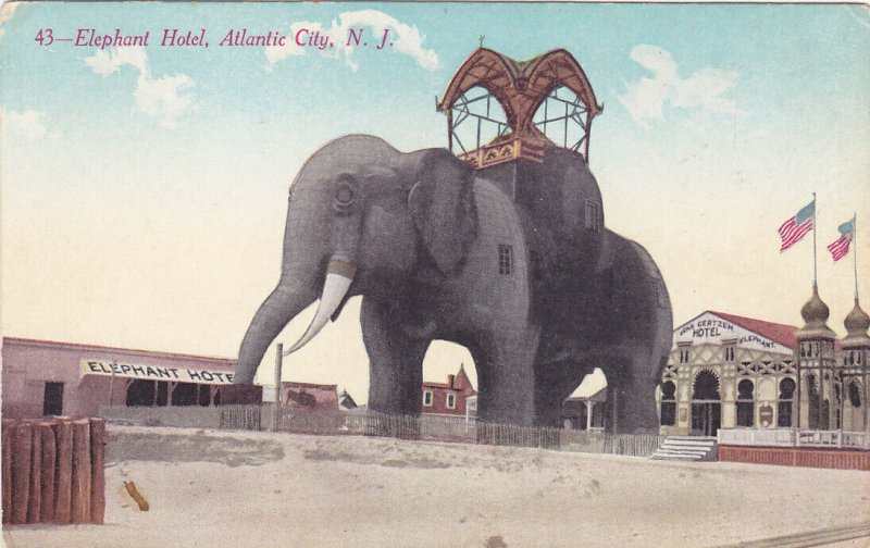 Elephant Hotel , ATLANTIC CITY , New Jersey , 00-10s