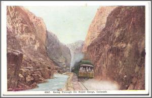 Colorado Royal Gorge Postcard