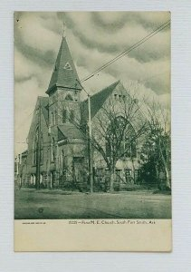 South Fort Smith Arkansas First M.E. Church Postcard Pre-1908 Unposted Front