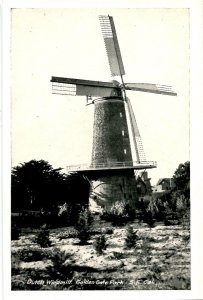 CA - San Francisco. Golden Gate Park, Dutch Windmill    (4.50 X 2.875)