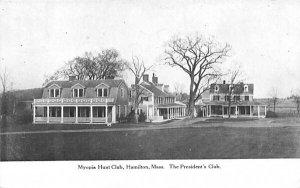 Myopia Hunt Club in Hamilton, Massachusetts The President's Club.