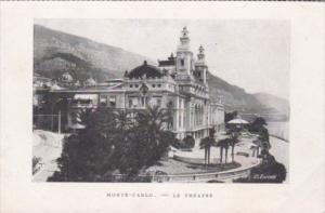 Monaco Monte Carlo Le Theatre