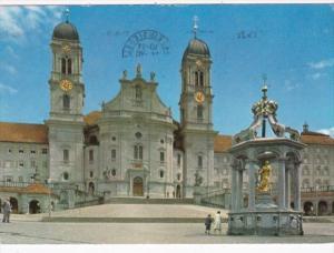 Switzerland Einsiedeln Klosterkirche