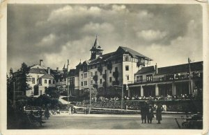 Slovakia Postcard High Tatras picturesque town image