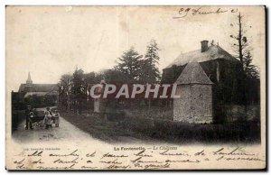 Old Postcard La Fontenelle the castle