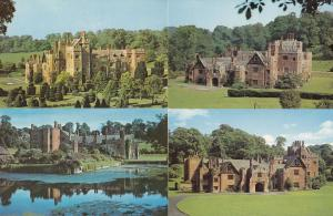 Compton Wynates Tysoe Warwick 4x Mint 1970s Postcard s