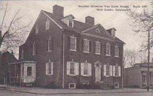 Delaware New Castle Senator Nicholas Van Dyke House Built 1797 Albertype