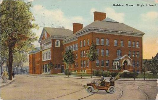 Massachusetts Malden High School 1910