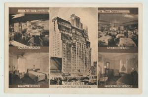 NYC New York City Dixie Hotel Postcard