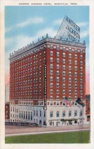 Andrew Jackson Hotel Nashville Tennessee