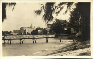 hawaii, HONOLULU, Royal Hawaiian Hotel, Bridge (1930s) RPPC